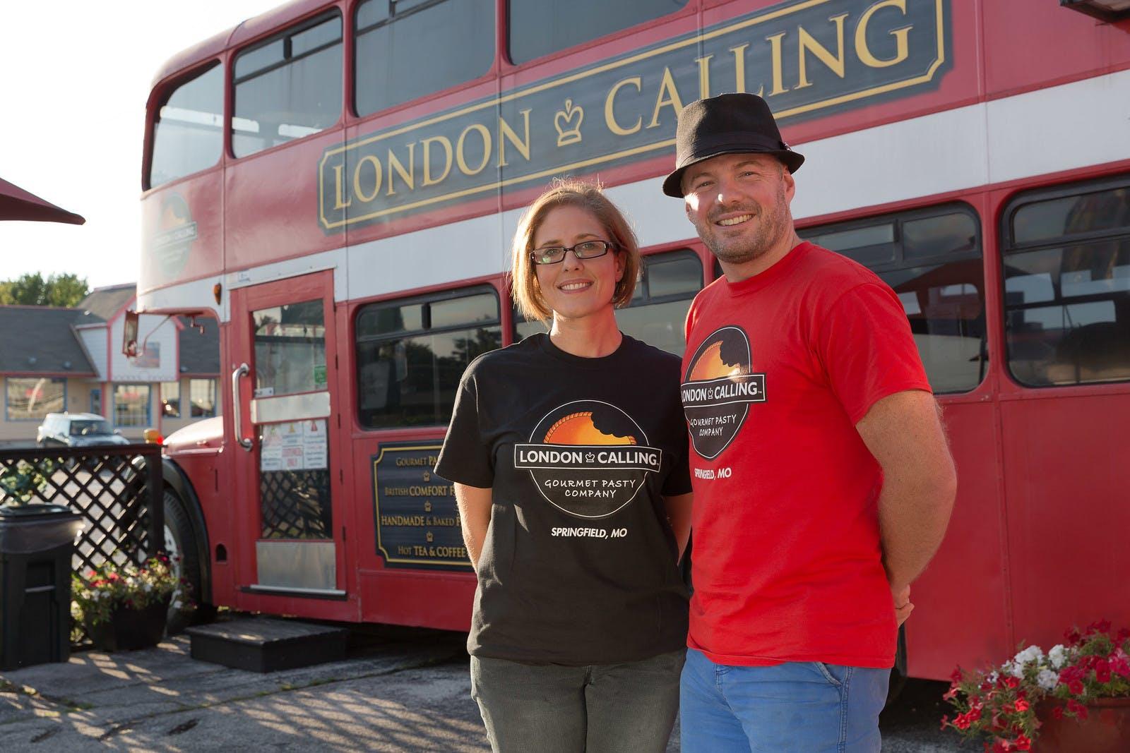 London Calling Gourmet Pasty Company