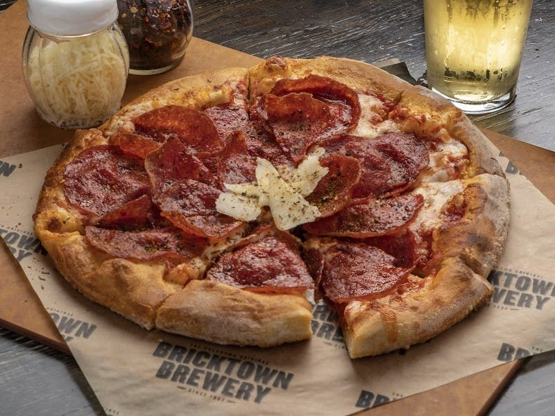 Bricktown Brewery Pizza