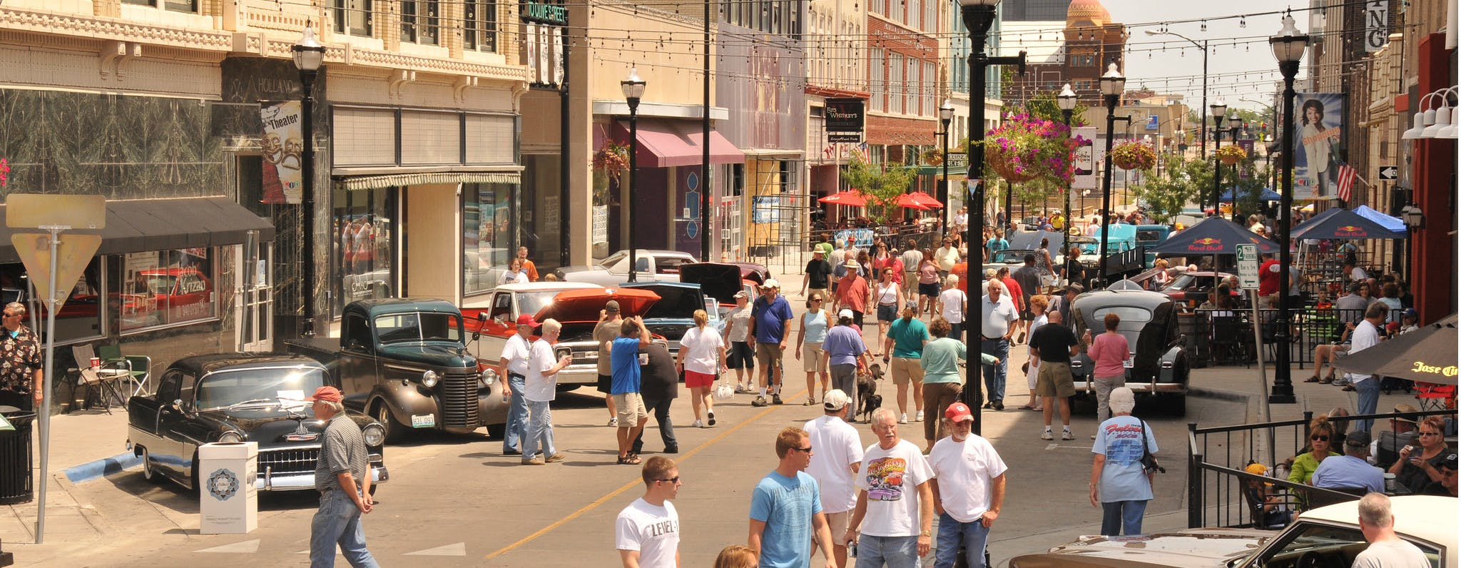 Birthplace of Route 66 Festival in Springfield, Missouri.