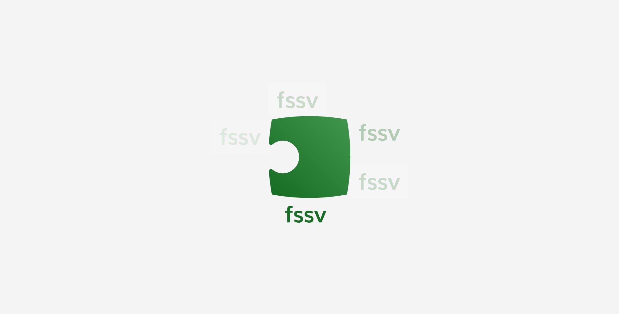 Modulare Logo-Entwicklung für den FSSV aus Dresden.
