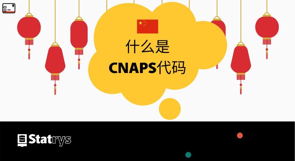 什么是CNAPS代码?