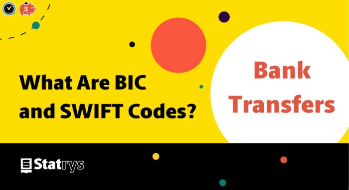 What is SWIFT and BIC code?
