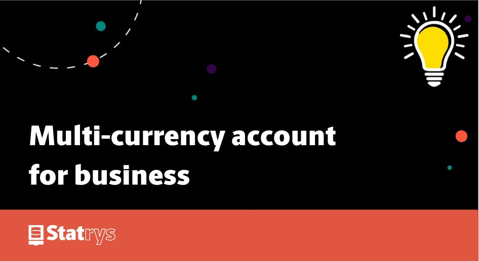 Multicurrency account for business