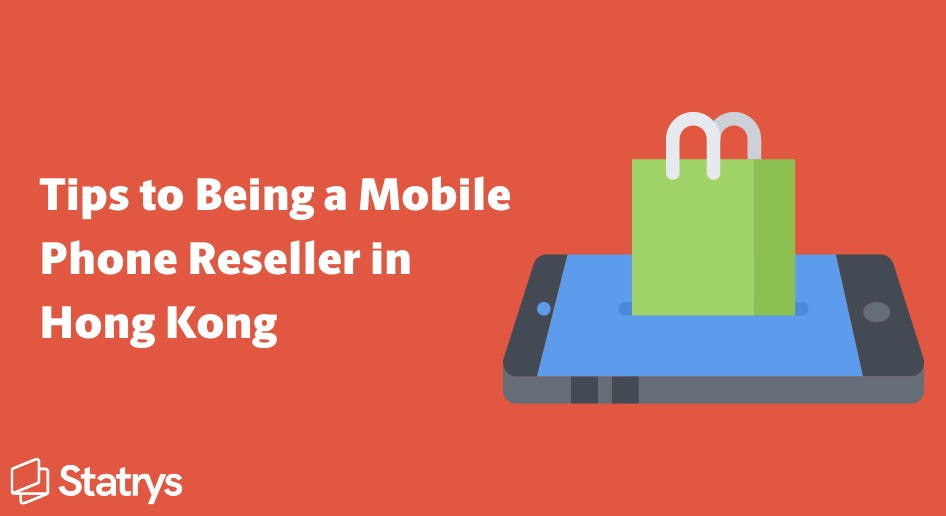 be a mobile phone reseller