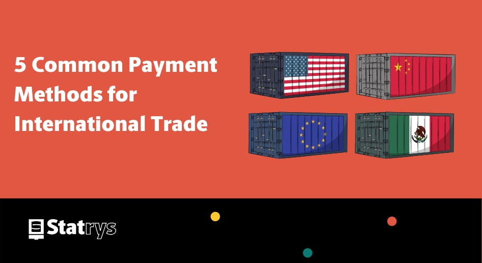 payment methods for international trade