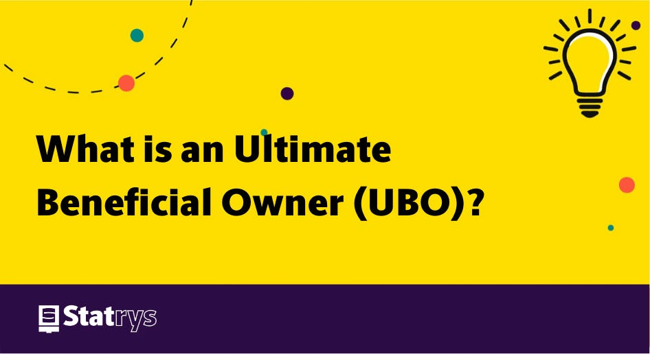 what is an ultimate beneficial owner?