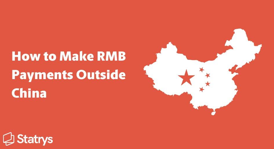 make rmb payments outside china