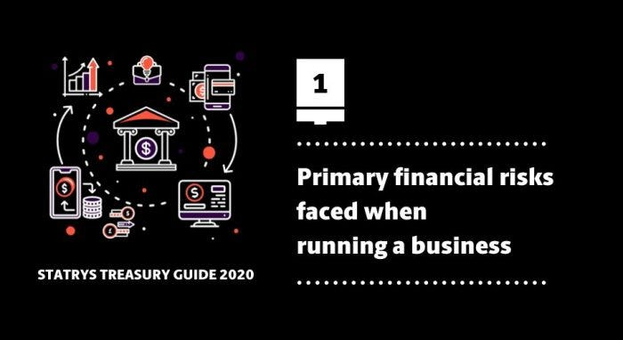 Financial Risks faced while running a business