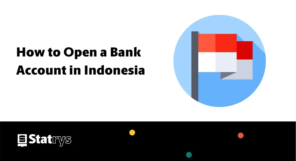How to open a bank account in indonesia