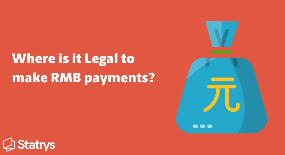 where to make legal RMB payments