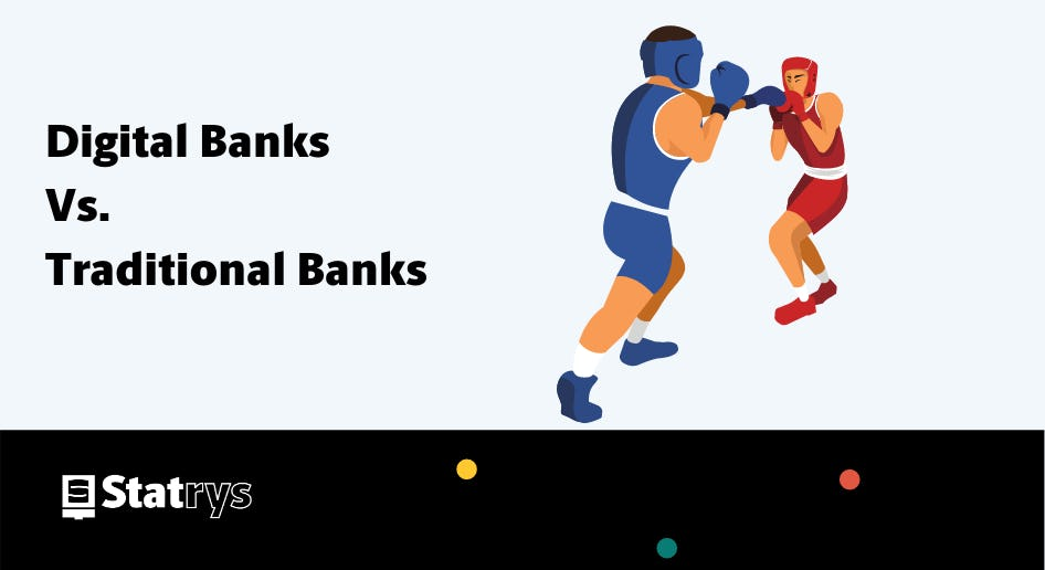 Digital Banks Vs. Traditional Banks