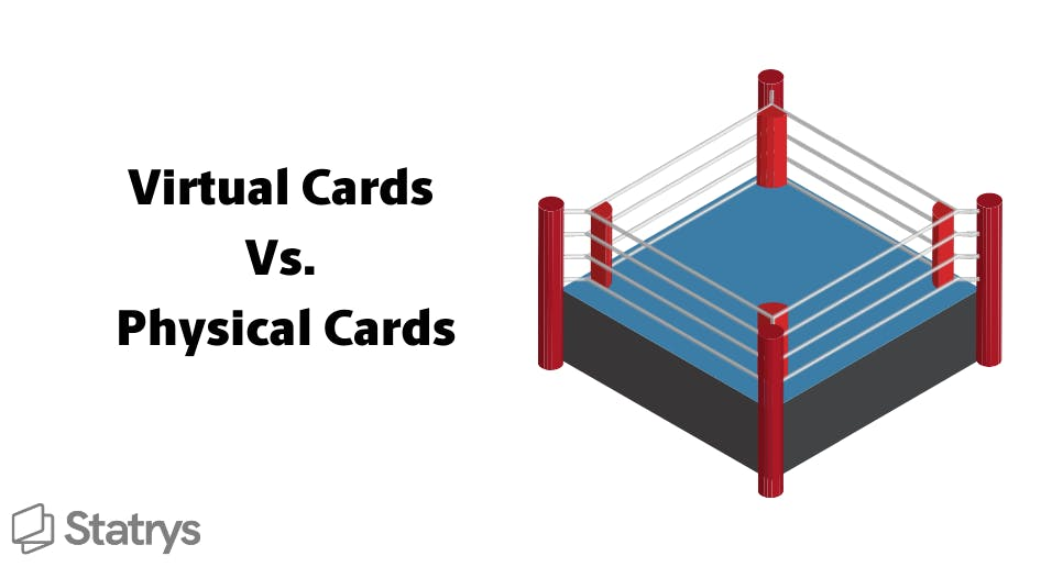 Virtual payment cards versus physical payment cards