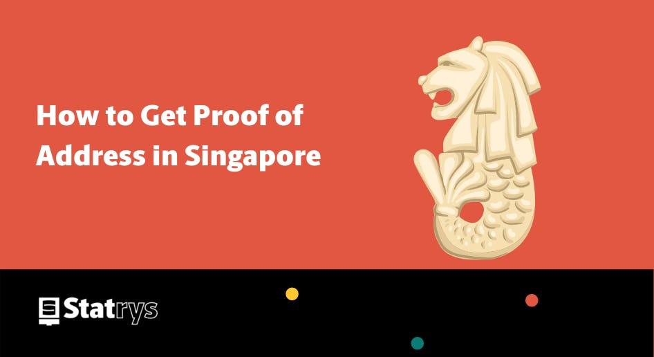 singapore proof of address