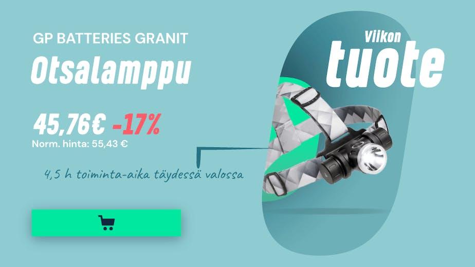 https://www.staypro.fi/sahko-valaistus/valaistus/kannettavat-valaisimet/otsalamput/gp-batteries-granit-otsalamppu-tz51785