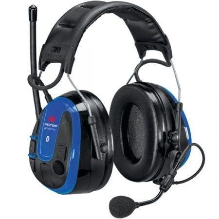 WS Alert XPI -kuulosuojaimet sinisillä ulkokuorilla