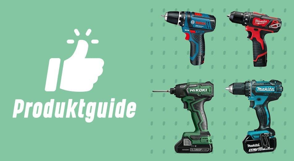 Guide: Velg riktig skrutrekker eller drill