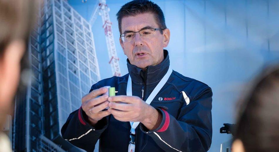 Nyhet: Nå er Bosch Pro CORE 18-volts batterier her og verdens første tilkoblede lader!
