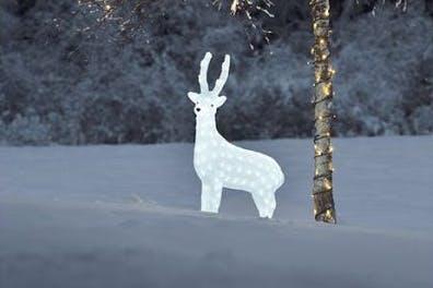 Lysende reinsdyr fra Konstsmide