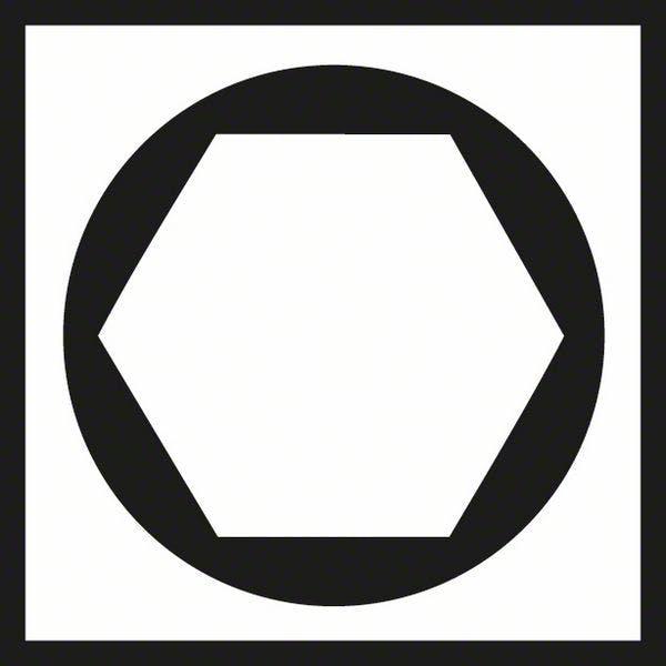 sekskant spor