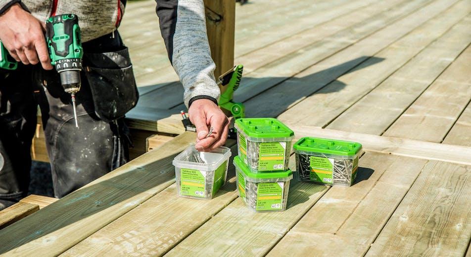 12 verktøy som hjelper deg når du skal bygge terrasse og tredekk
