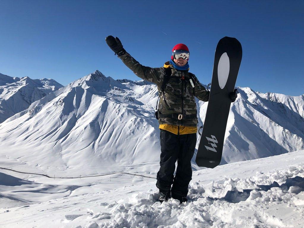 Backcountry Snowboarding Georgia