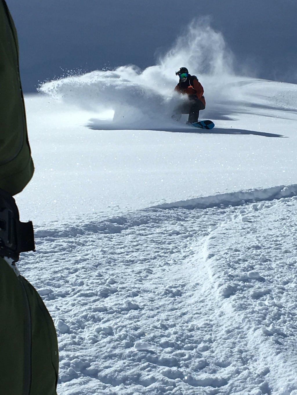 Powder Turn Splitboard Freeride Course Austria