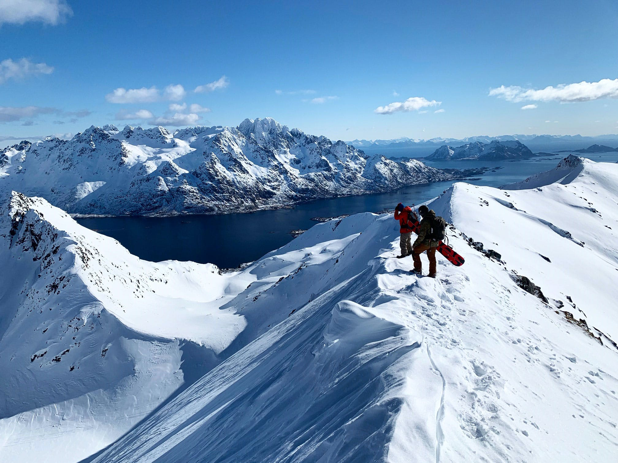 Splitboard Adventure Lofoten Norway