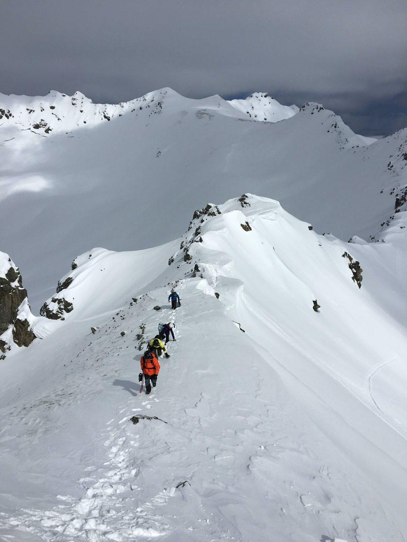 Hiking Splitboard Freeride course Austria