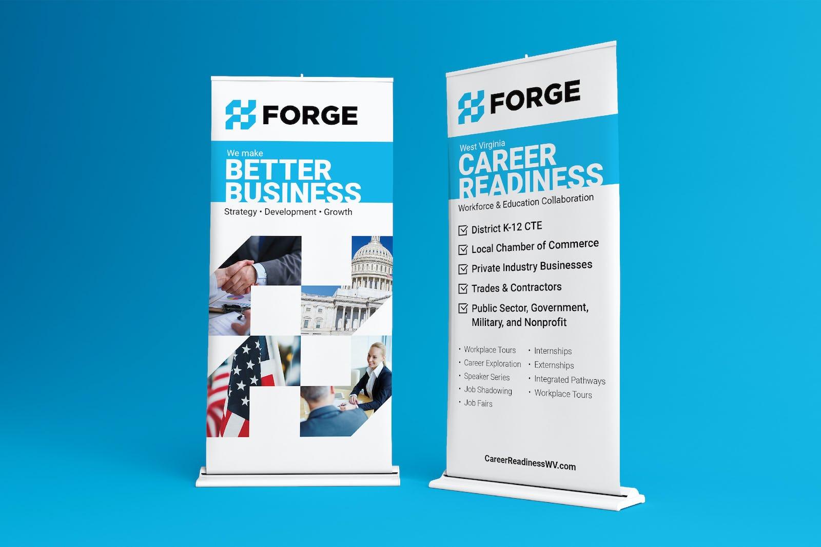 Forge banner design