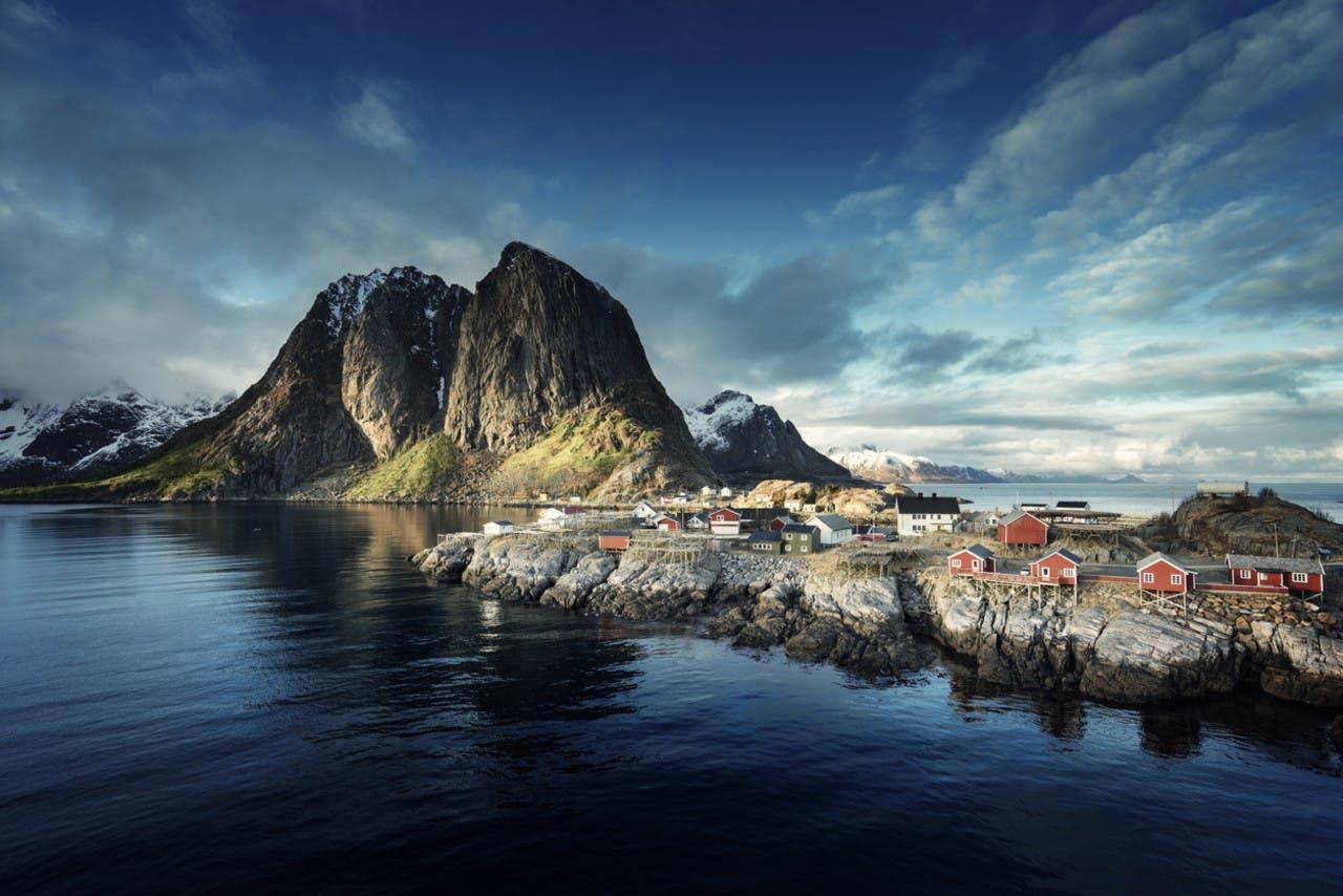 Vakre Reine i Lofoten