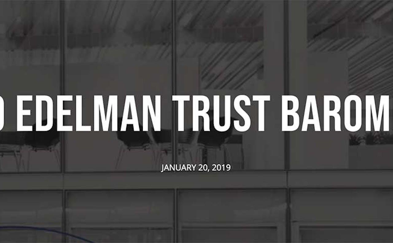 Edelman Trust Barometer