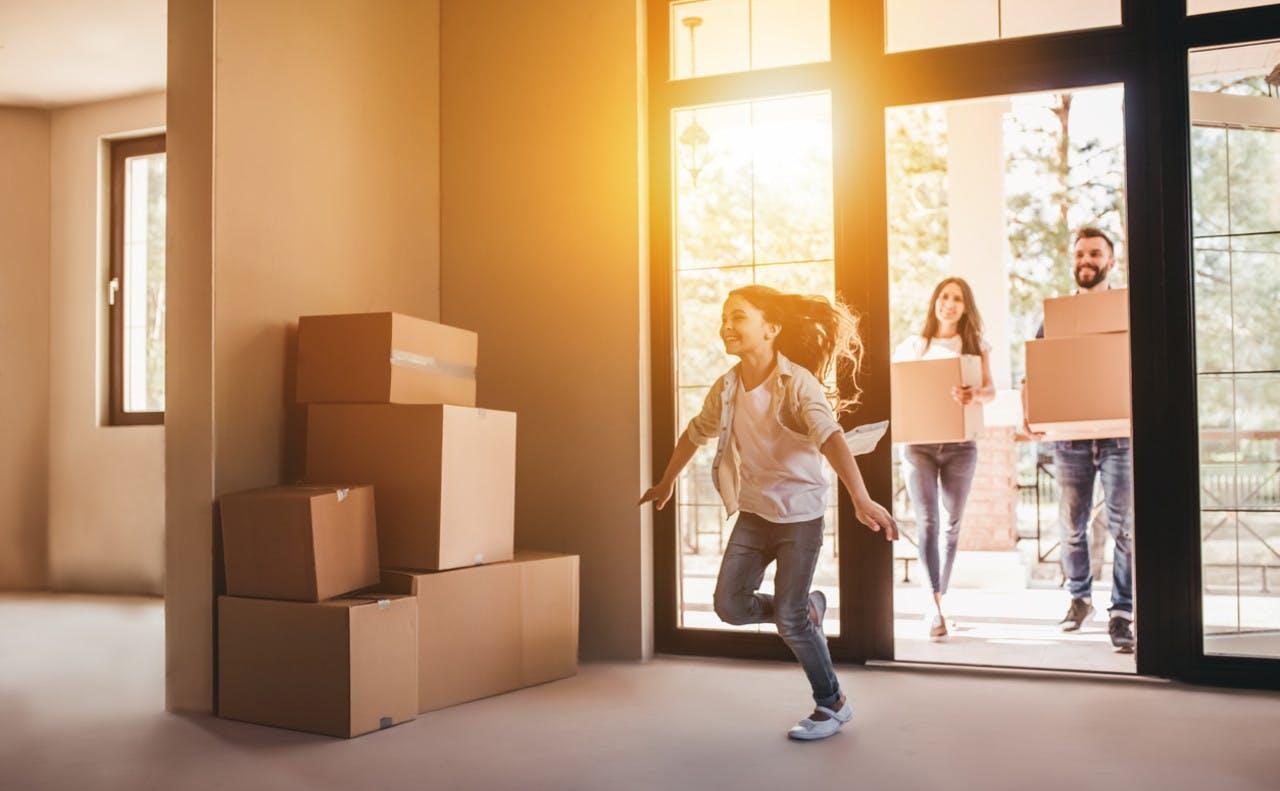 Flytter inn i ny leilighet