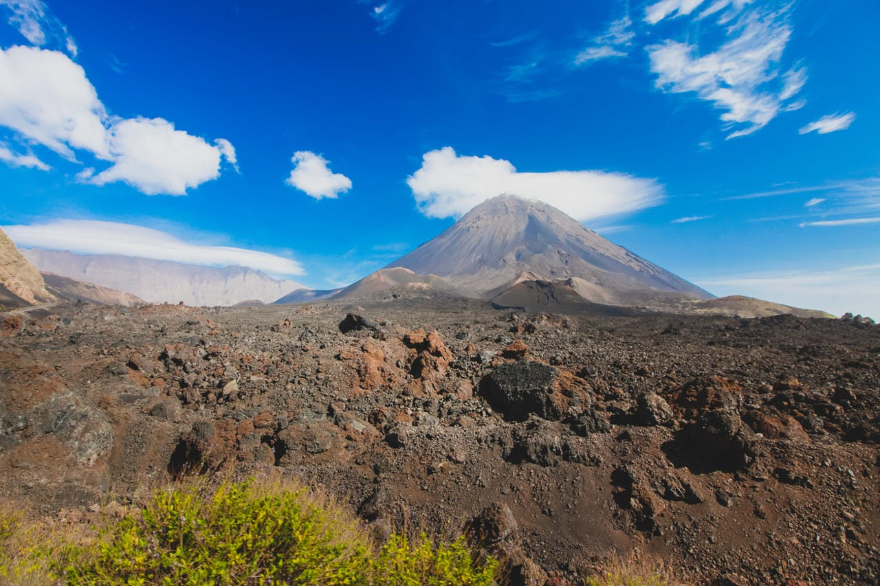 Pico do fogo on Cabo Verde islands