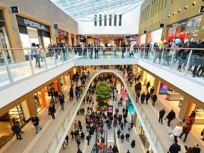 Espace dans un centre commercial