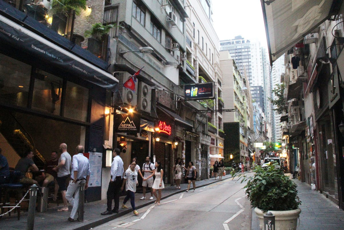 storefront guide retail space central hong kong