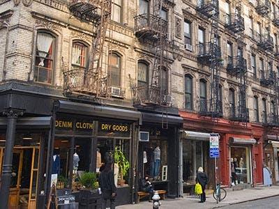 Retail Space in SoHo New York
