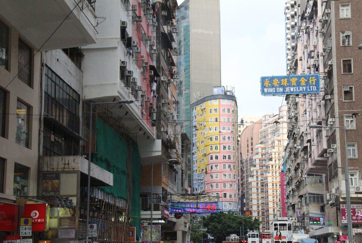 storefront guide pop up store Wan Chai hong kong