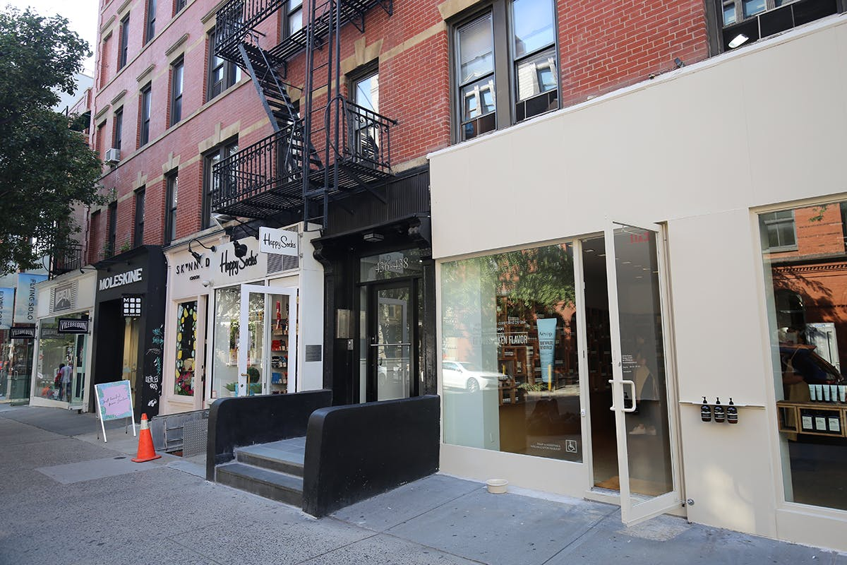 storefront guide pop up store soho new york