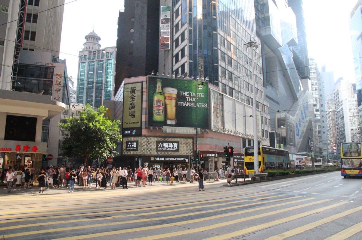 storefront guide retail space causeway bay hong kong