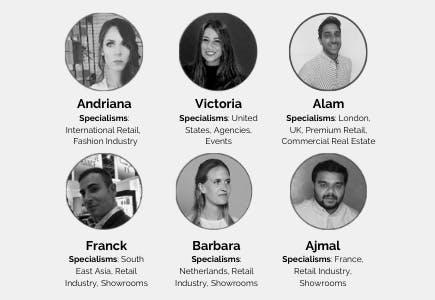 Storefront expert profiles