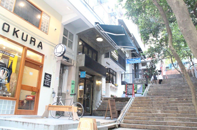 storefront guide pop-up store in sheung wan hong kong