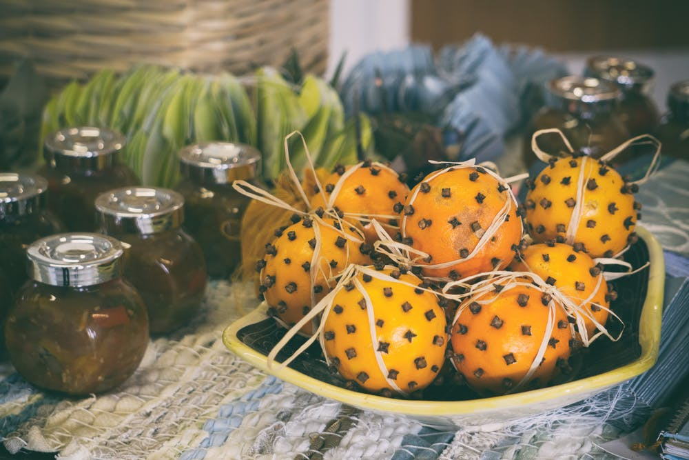 fructe pe post de decor