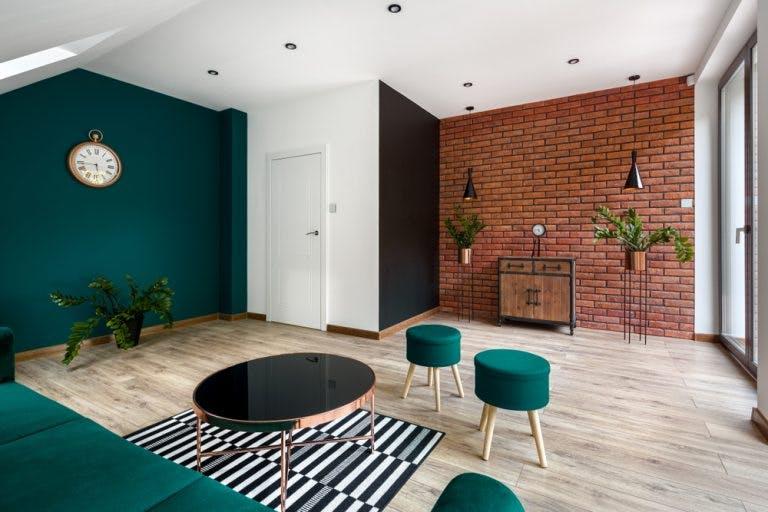 Culori si materiale pentru amenajarea sufrageriei
