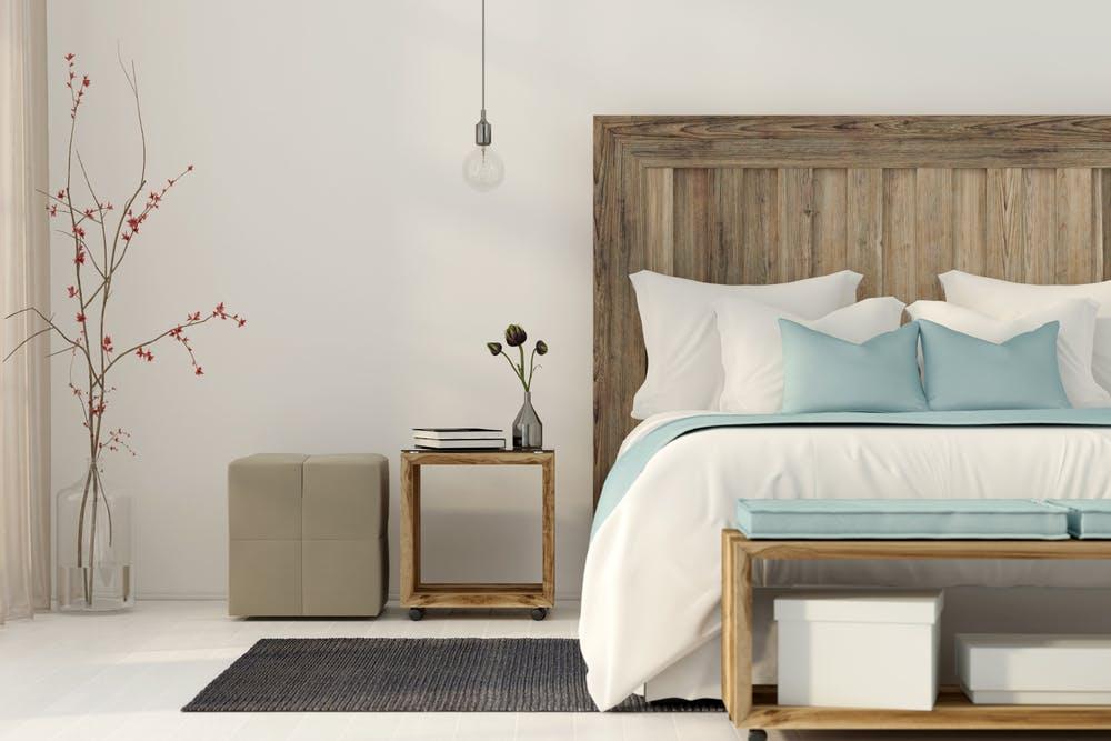 Cum obtii un aspect mai aerisit al dormitorului