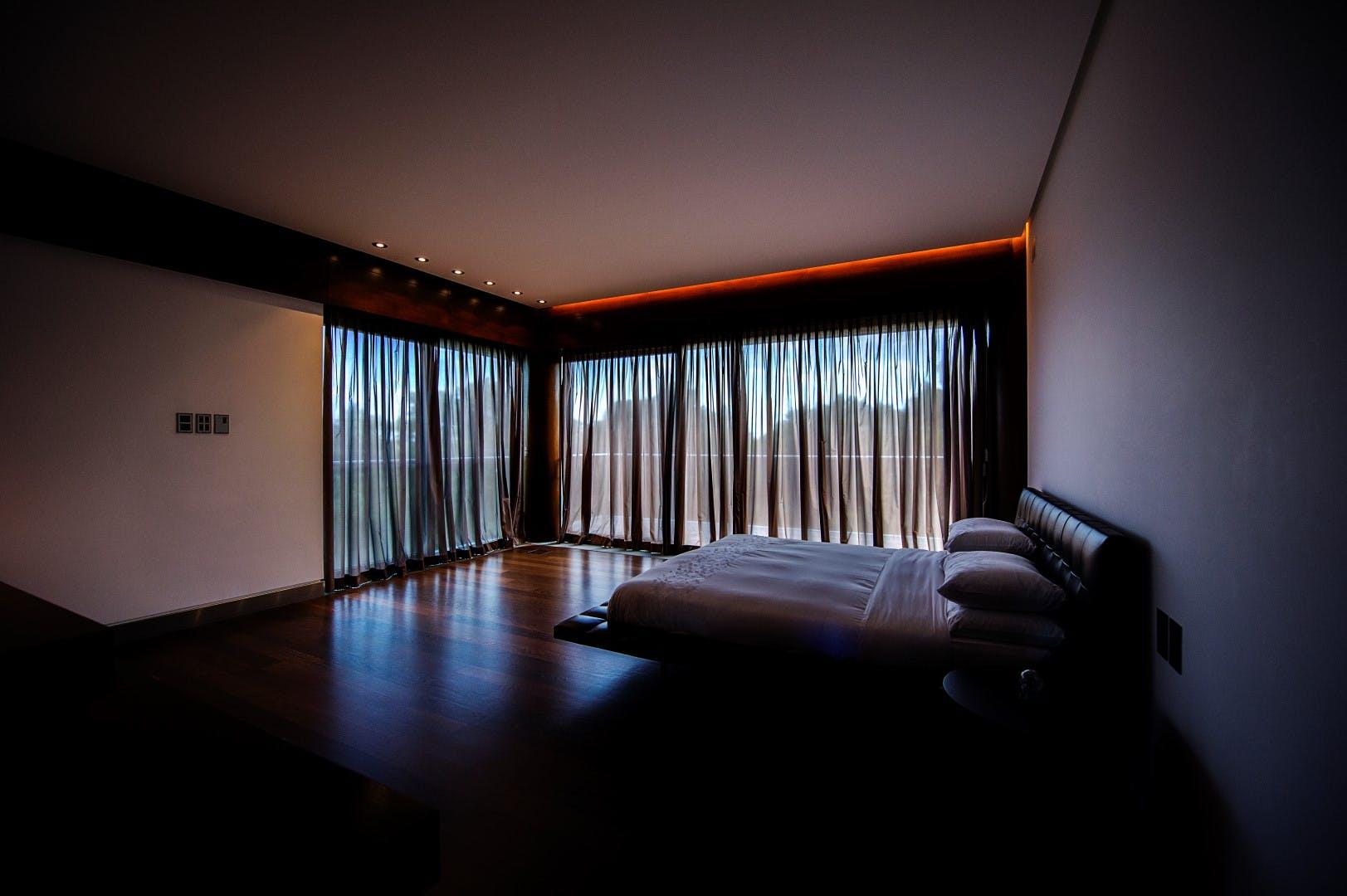 Dormitor penthouse spatios