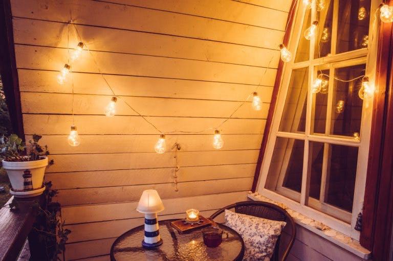 Iluminare balcon