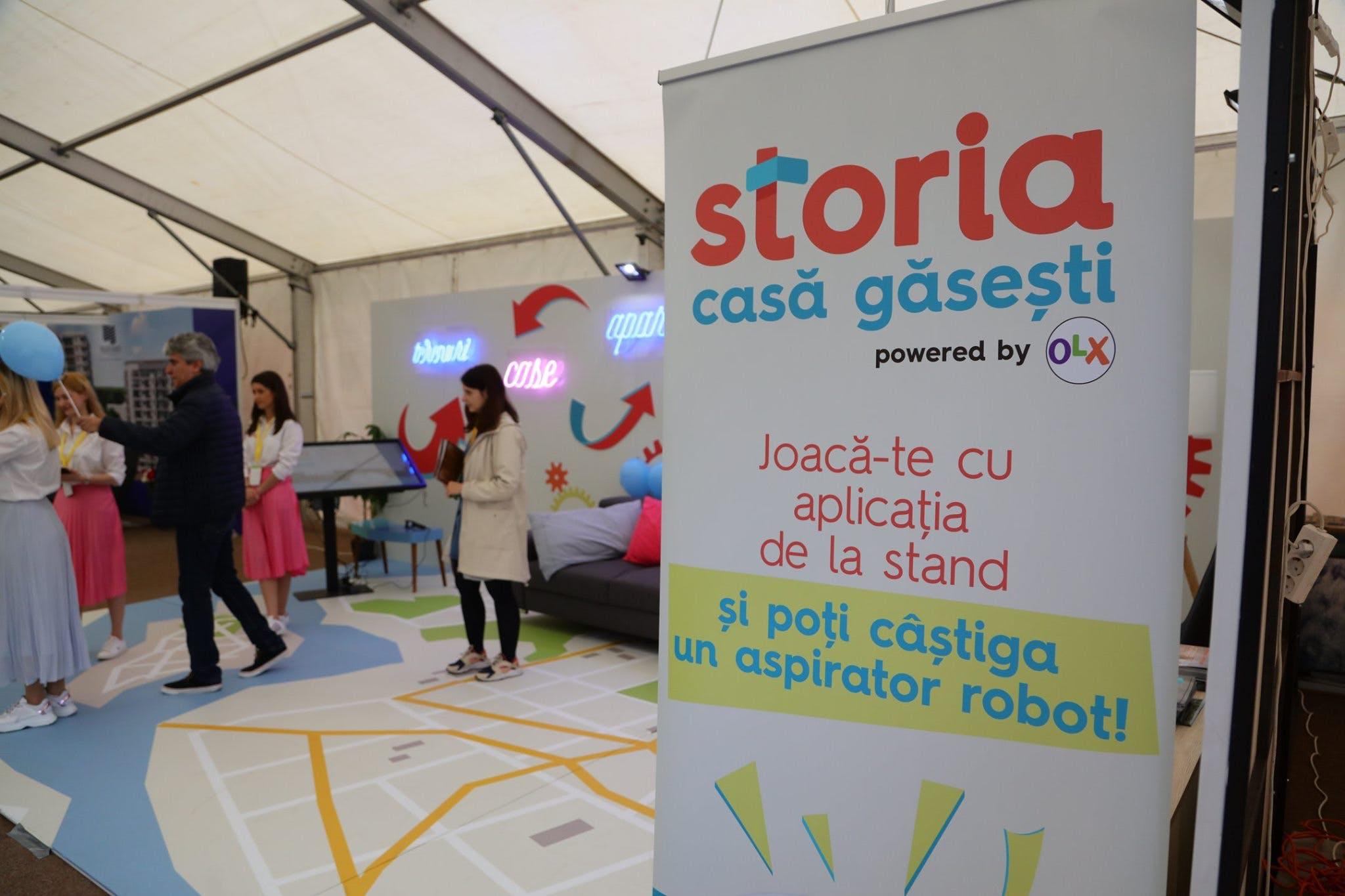 Câștigă un aspirator robot la standul Storia.ro de la Imobiliarium!