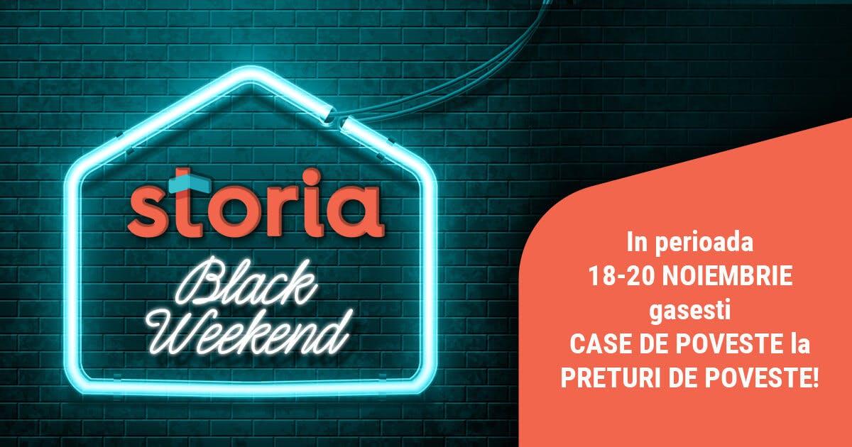 Storia Black Weekend: reduceri de 1,7 mil. de euro si peste 200 de proprietati cu preturi de pana la 25% mai mici