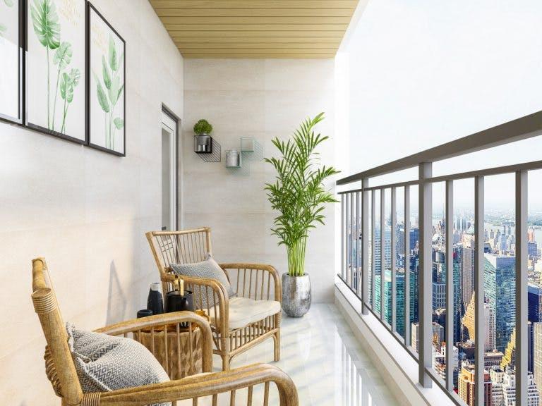 Balcon in stil clasic