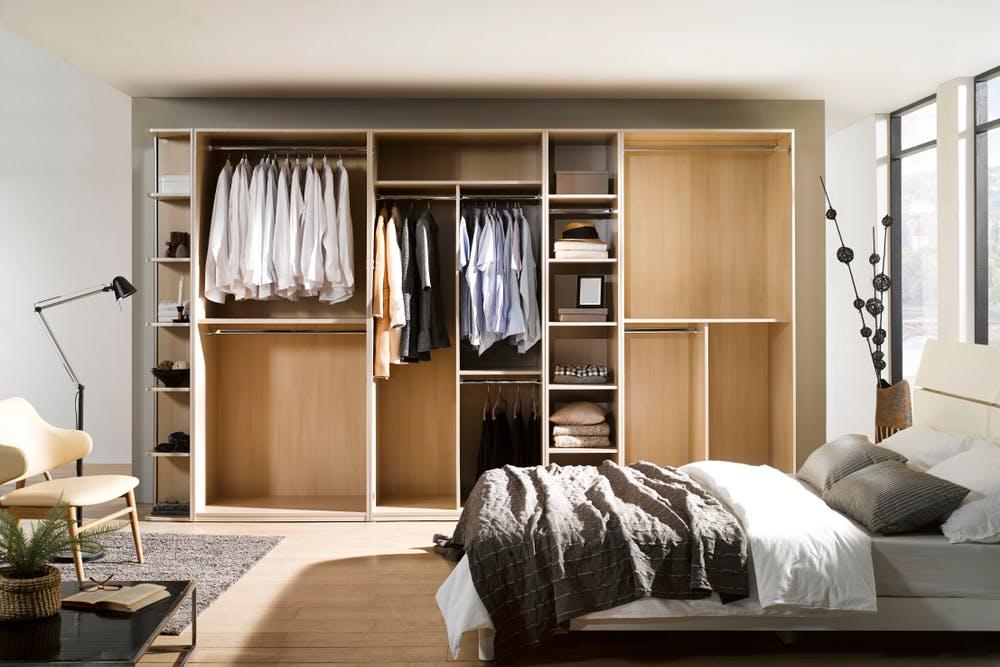 amenajarea unui dressing in dormitor